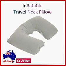 Inflatable Car Travel Neck U Shape Pillow Support Head Rest Air Blow Up Cushion