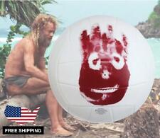 Wilson Ball Cast Away Movie Analogue Volleyball White & Red Face