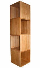4er-Set Würfel, Kubus ca. 45x45x45cm groß, aus extra dickem Buche-Massivholz