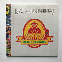 KAISER CHIEFS - OFF WITH THEIR HEADS * VINYL LP * FREE P&P UK * PROMO MINT LTD *