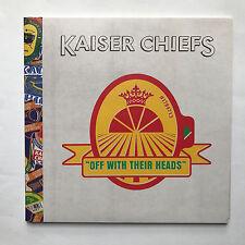 KAISER CHIEFS - OFF WITH THEIR HEADS * VINYL LP * FREE P&P UK * PROMO MINT LTD *