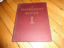 The Instrument Manual 1949 United Trade Press Ltd. Electrical Measuring Vintage