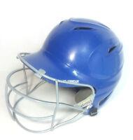 UA UABH100MM-FGB2 Red Adult UA Matte Batting Helmet w//Baseball Mask