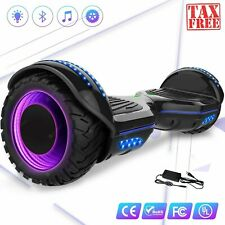 "6.5"" Tire Balance Scooter Dual Motor Bluetooth Led Lights 20km Range Ce RoHs Fc"