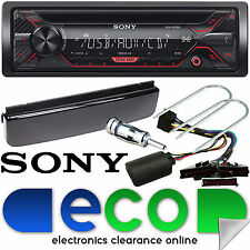 Ford Mondeo MK3 Sony CD MP3 USB Aux Car Stereo & Steering Wheel Upgrade Kit
