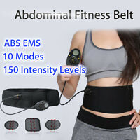 ABS Smart Abdominal Fitness Belt Muscle Trainer Gear Workout Stimulator Exercise