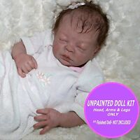 "Reborn baby Teagan by Denise Pratt ~ Reborn baby kit ~ Preemie Doll Kit~ 16"" kit"