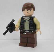 Han Solo 75003 10236 Vest Reddish Brown Legs Star Wars Lego Minifigure Figure