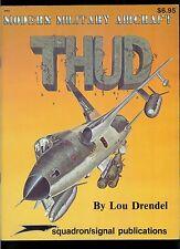 Squadron Signal Magazine Military Aircraft THUD Thunderchief F-105 Plane Vintage