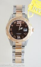 Invicta Women 13025 Pro Diver Brown Dial Quartz Rose Watch
