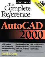 AutoCAD 2000 : The Complete Reference Paperback David S. Cohn