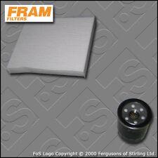 SERVICE KIT for HONDA ACCORD 2.4 I-VTEC FRAM OIL CABIN FILTERS CL9 CM2 2003-2008