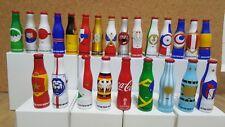 MEXICO - COCA COLA 24 MINI ALUMINIUM BOTTLES - FULL SET - RUSSIA 2018 WORLD CUP