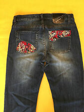 Womens Jeans - Ed Hardy - Size 30 - relaxed/boot fit