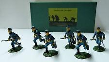 Frontline Figures, Nordstaaten Kavallerie laufend, DC2, Union Cavalry advancing