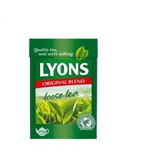 Lyon's Tea Original Blend Loose Leaf 250g - Lyons Green Label Loose Tea