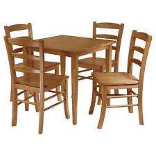 Oak square dining furniture sets ebay transitional watchthetrailerfo