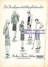Kaufhaus Schwarz Salzburg XL 1927 Reklame Ludwig Victor Platz Kranzlmarkt Mode