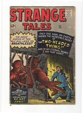 STRANGE TALES (PRE-HERO) 95, F- (5.5), 1962 MARVEL, THE TWO-HEADED THING