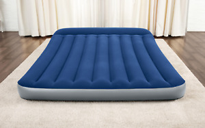 Inflatable Airbed Mattress QUEEN with Built-in AC Pump And Carry Bag Camping