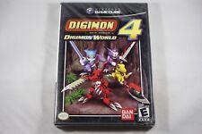 Digimon World 4 (Nintendo Gamecube) NEW Factory Sealed Near Mint