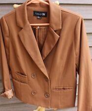 Women's Brown Blazer by Forever 21; Size:  Medium