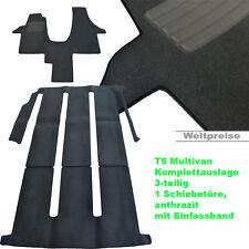 AKTION Velour Fußmatten Komplettauslage für VW T6 Multivan 1 ab Bj.04/2015