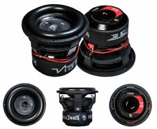 "Vibe Blackdeath 12"" HEX 7500 Watts SPL Car Subwoofer Sub Bass Woofer 2 x 1 ohm"