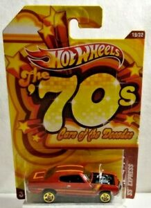 MATTEL HOT WHEELS CARS OF THE DECADES 1970S CHEVY SS EXPRESS SEALED BLISTER PACK