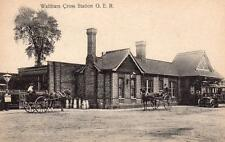 Waltham Cross Railway Station G E R unused old  pc P W Mitchell Ref A200