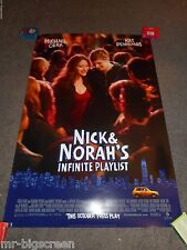 NICK & NORAH'S INFINITE PLAYLIST - ORIGINAL DS ROLLED TEASER POSTER - 2008