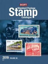 New 2019 SCOTT Standard Postage Stamp Catalog Vol 3 A & B US Countries G - I