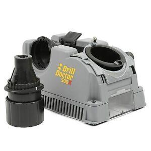 DD500X Drill Bit Sharpener, 118 Or 135 Deg, Carbide, Spiral, Grey, FREE SHIPPING