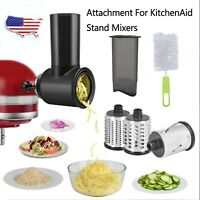 Prep Slicer & Shredder Attachment Processor For KitchenAid Stand Mixer Food Home