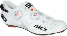 Sidi Wire Carbon Tecno 3 Push Lucido Road Bike Shoes White Size 41
