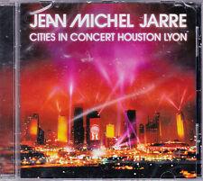 CD 10T JEAN MICHEL JARRE CITIES IN CONCERT HOUSTON LYON 2014 NEUF SCELLE