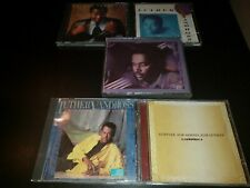 Luther Vandross 5 CD Lot Best Of Any Love Never Too Much Give Me Reason Tribute