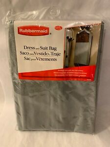 Rubbermaid Dress And Suit Bag New