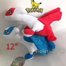 "2 Pokemon XY Plush Latios Latias  Legendary Soft Toy Stuffed Animal Doll 12"""