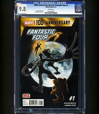 1st SILVER GALACTUS 1 OF 6 - 100th Anniversary Special Fantastic Four #1 CGC 9.8