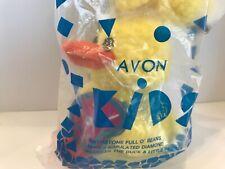 New Avon April Birthstone Full O' Beans 2000 Paddles the Duck & Little Paddles