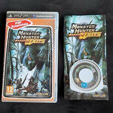 Monster Hunter Freedom Unité - Jeu Playstation PSP Complet