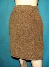 8c400a8ebd Skirt Barbara Bui 50% Wool Brown Streaked Size 36 Fr or 40 It