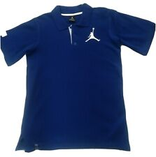 Michael Jordan New Polo Shirt Youth Size 16 -18 Color Is Blue