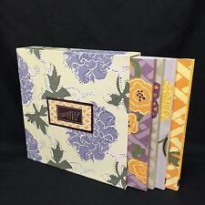 Stampin Up Creative Ideas Portfolio II From the Heart Boxed Book Set 1999 1-4