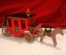 Playmobil US Mail Stagecoach Western Stage Coach