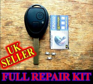 for Land Rover Discovery 2 TD4 TD5 / Rover 75 Remote Key Fob Case REPAIR KIT