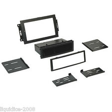 CT24CH15 JEEP GRAND CHEROKEE 2005 ONWARD BLACK FITTING FASCIA ADAPTER PANEL KIT