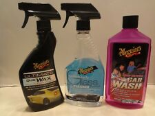 Meguiar's Ultimate Quik Wax-Glass Cleaner-Car Wash Combo