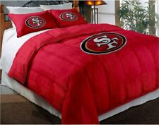 San Francisco 49ers NFL Twin Comforter Pillow Sham Set
